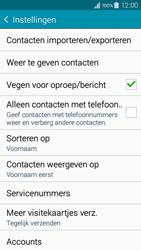 Samsung A300FU Galaxy A3 - Contacten en data - Contacten kopiëren van toestel naar SIM - Stap 7