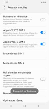 Samsung Galaxy S20 5G - Réseau - Sélection manuelle du réseau - Étape 14