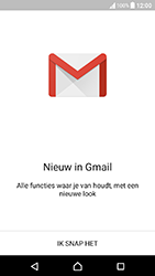 Sony Xperia X Compact (F5321) - E-mail - Handmatig instellen (gmail) - Stap 5