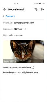 Huawei P40 - E-mails - Envoyer un e-mail - Étape 15