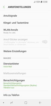 Samsung Galaxy S9 - Anrufe - Rufumleitungen setzen und löschen - Schritt 7