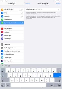 Apple ipad-pro-10-5-inch-met-ipados-13-model-a1709 - WiFi - Mobiele hotspot instellen - Stap 5