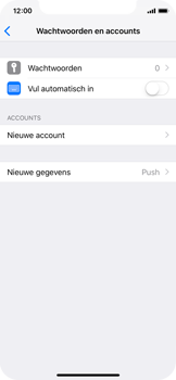 Apple iphone-x-met-ios-12-model-a1901 - E-mail - Handmatig instellen - Stap 5