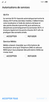 Huawei P20 pro - Premiers pas - Configuration de l