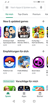Huawei P30 Lite - Apps - Einrichten des App Stores - Schritt 22