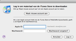 Apple The New iPad - Applicaties - Account aanmaken - Stap 5