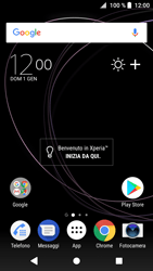 Sony Xperia XZ1 - Dispositivo - Come eseguire un soft reset - Fase 1