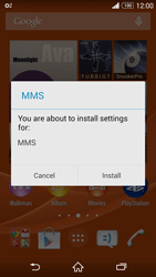 Sony D6603 Xperia Z3 - MMS - Automatic configuration - Step 5
