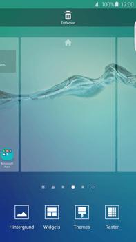 Samsung Galaxy S6 edge+ (G928F) - Startanleitung - Installieren von Widgets und Apps auf der Startseite - Schritt 4