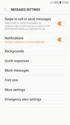 Samsung A510F Galaxy A5 (2016) - Android Nougat - SMS - Manual configuration - Step 6