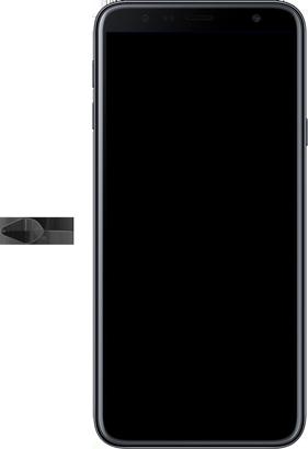 Samsung Galaxy J4 Plus - Appareil - comment insérer une carte SIM - Étape 2