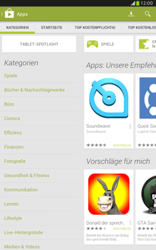 Samsung Galaxy Note 8-0 - Apps - Herunterladen - 5 / 20