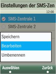 Samsung F480-TouchWiz - SMS - Manuelle Konfiguration - Schritt 8