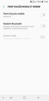 Samsung Galaxy J6 - Internet et connexion - Partager votre connexion en Wi-Fi - Étape 6