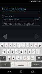 Sony Xperia T3 - Apps - Konto anlegen und einrichten - 10 / 22