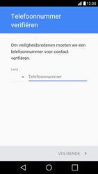 LG LG X Screen - apps - account instellen - stap 6