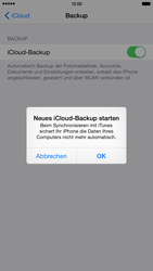 Apple iPhone 6 Plus - iOS 8 - Apps - Konfigurieren des Apple iCloud-Dienstes - Schritt 12