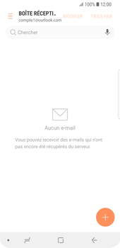 Samsung Galaxy S9 - E-mail - Configuration manuelle (outlook) - Étape 9