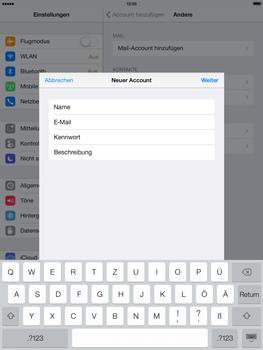 Apple iPad Air - E-Mail - Konto einrichten - 9 / 28