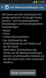 Samsung Galaxy Grand Neo - Fehlerbehebung - Handy zurücksetzen - 9 / 12