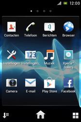 Sony ST21i Xperia Tipo - Internet - Internetten - Stap 2