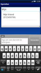 Sony Xperia X10 - MMS - Afbeeldingen verzenden - Stap 5
