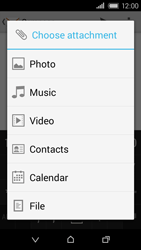 HTC Desire 320 - E-mail - Sending emails - Step 13