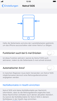 Apple iPhone 6 Plus - iOS 11 - Notfall – SOS - 4 / 7