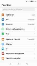 Huawei P10 - Internet et connexion - Partager votre connexion en Wi-Fi - Étape 3