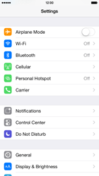 Apple iPhone 6 iOS 8 - Internet and data roaming - How to check if data-connectivity is enabled - Step 3