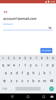 Huawei Nexus 6P - Android Oreo - E-mail - e-mail instellen: POP3 - Stap 12