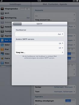Apple iPad - E-mail - Handmatig instellen - Stap 11