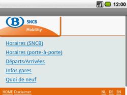 Acer BeTouch E130 - Internet - navigation sur Internet - Étape 13