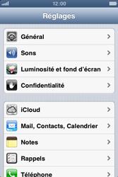 Apple iPhone 3GS - Internet et roaming de données - Désactivation du roaming de données - Étape 3