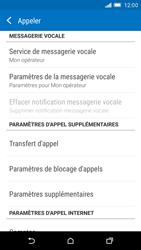 HTC One M9 - Messagerie vocale - Configuration manuelle - Étape 5