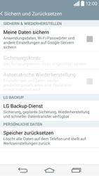 LG D855 G3 - Fehlerbehebung - Handy zurücksetzen - Schritt 8