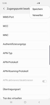Samsung Galaxy S10 - MMS - Manuelle Konfiguration - Schritt 15