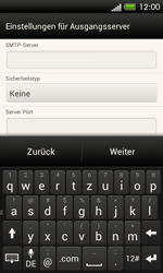 HTC One SV - E-Mail - Manuelle Konfiguration - Schritt 15