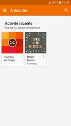 Samsung Galaxy S7 - Photos, vidéos, musique - Ecouter de la musique - Étape 5