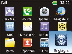 LG C360 Golf - Internet - Configuration manuelle - Étape 3