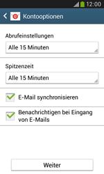 Samsung S7580 Galaxy Trend Plus - E-Mail - Konto einrichten - Schritt 16
