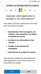 Samsung Galaxy S7 - Android N - E-mail - 032c. Email wizard - Outlook - Étape 8