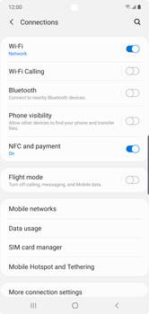 Samsung Galaxy Note 10 Plus 5G - WiFi - Enable WiFi Calling - Step 6