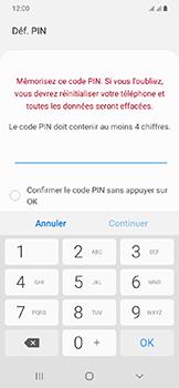 Samsung Galaxy A20e - Sécuriser votre mobile - Activer le code de verrouillage - Étape 7
