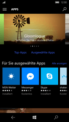 Microsoft Lumia 650 - Apps - Herunterladen - Schritt 6