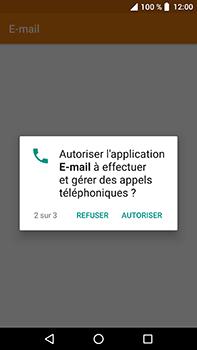 Crosscall Trekker X4 - E-mails - Ajouter ou modifier un compte e-mail - Étape 5