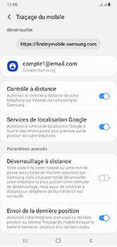 Samsung Galaxy A10 - Appareil - configurer Localiser mon appareil - Étape 9