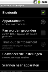 Alcatel OT-991 Smart - bluetooth - aanzetten - stap 7