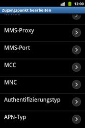 Samsung Galaxy Xcover - MMS - Manuelle Konfiguration - 13 / 17