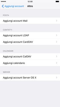 Apple iPhone 6 Plus iOS 9 - E-mail - configurazione manuale - Fase 6